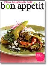 Bon Appetit Jun 2009 Cover