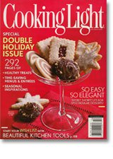 Cooking Light December 2009 Cover