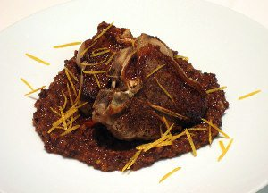 Lamb Chops with Fig and Orange Tapenade on JillHough.com