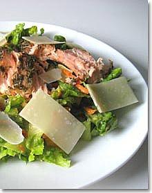 Salmon Caesar SaladSalmon Caesar Salad / Jill Silverman Hough