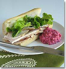 Revolutionary Cranberry and Horseradish Relish