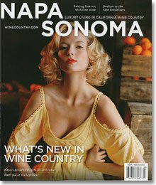 Napa Sonoma Fall-Winter 2010 Cover