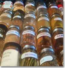 Spring project: Clean out your spice drawer!