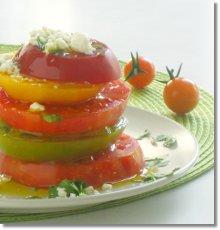 Tomato Salad / JillHough.com
