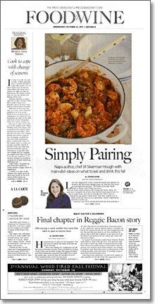 Santa Rosa Press Democrat 10-12-11
