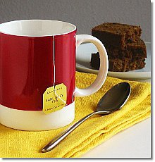Tea and tea bread / JillHough.com