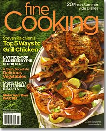Fine Cooking June/July 2012 Cover