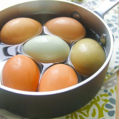 Hard-cooked Eggs / JillHough.com