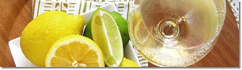 Sauvignon Blanc and citrus