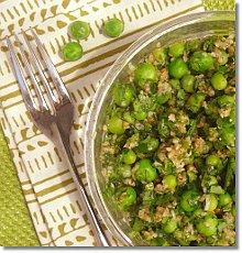 Green Pea Tabbouleh / JillHough.com