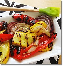 Olive oil, salt, and pepper
