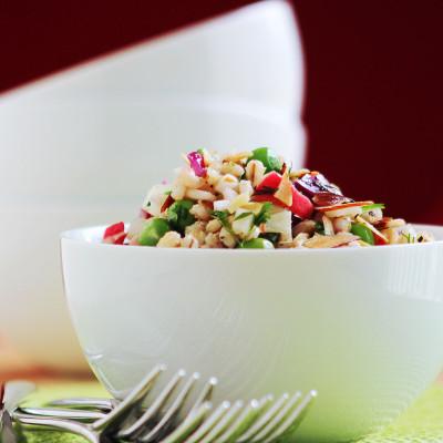 Barley Salad / JillHough.com