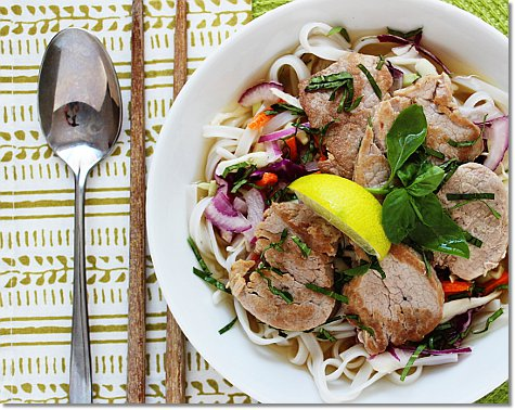 Simple Vietnamese Pork Noodle Bowl