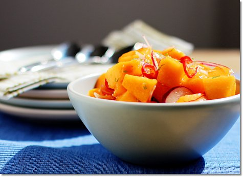 Melon and Chile Salad