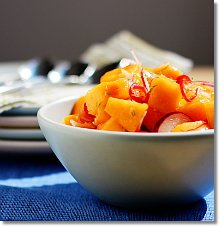 Melon and Chile Salad / Jill Silverman Hough