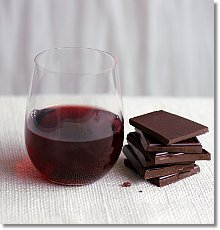 Wine and chocolate? No thank you