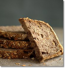 No-Knead Country Wheat Bread on JillHough.com