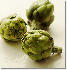 How to prep baby artichokes
