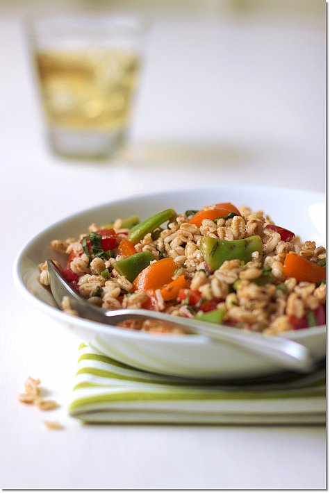 Summer Farro Salad / Jill Silverman Hough