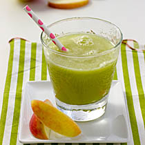 Apple-Cucumber-Lime Agua Fresca / JillHough.com