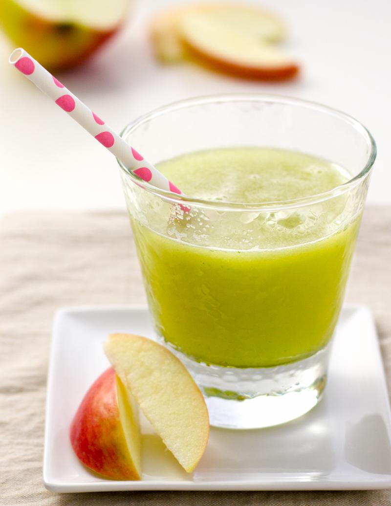 Apple-Cucumber-Lime Agua Fresca / JillHough.com