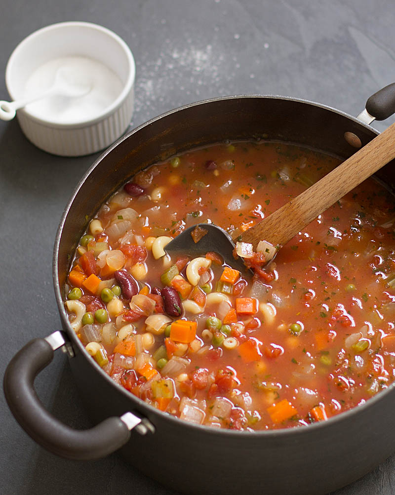 recipe: simple minestrone soup [1]
