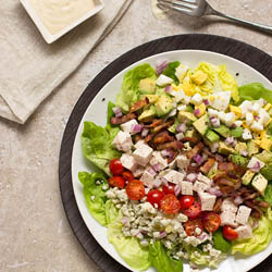 Needs, wants, and an indulgent cobb salad