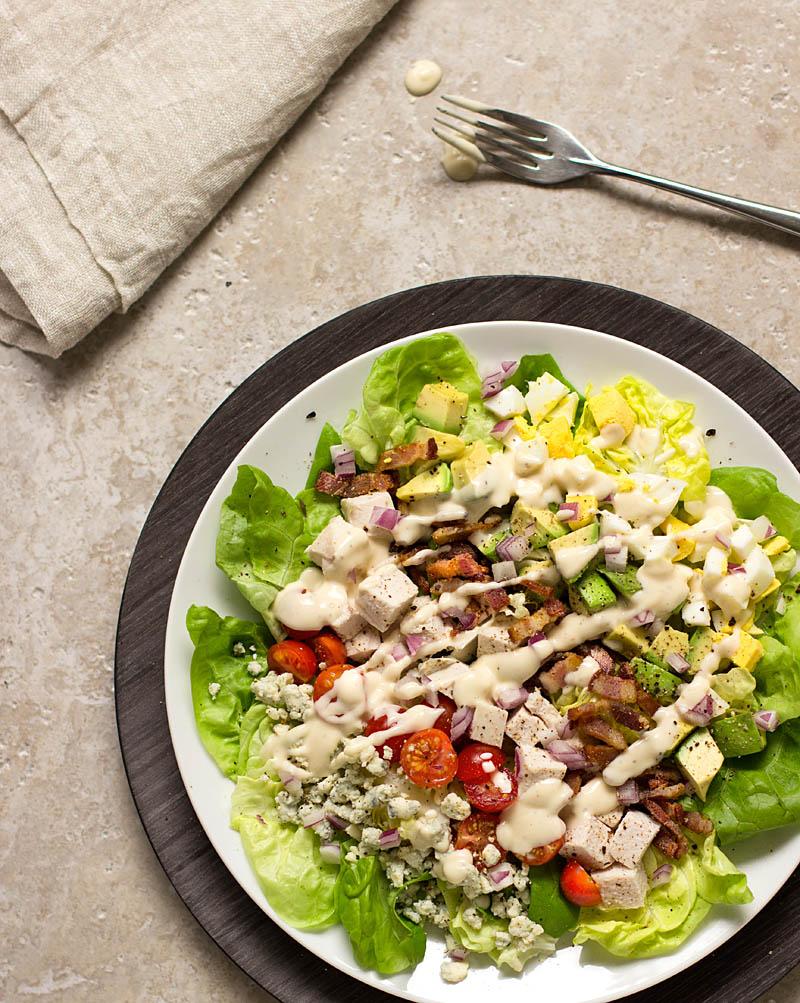Classic Cobb Salad / JillHough.om