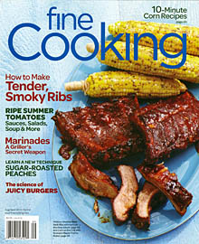 Fine Cooking Aug-Sep 2012 / JillHough.com