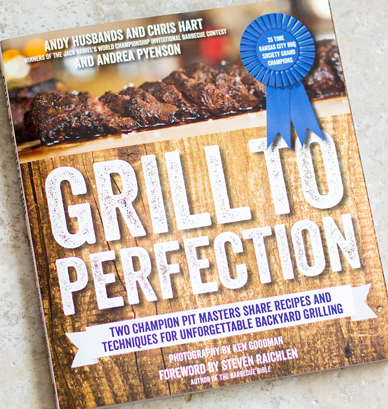 Grill to Perfection cookbook / JillHough.com