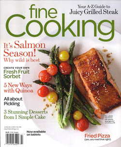 Fine Cooking June-July 2014 / JillHough.com