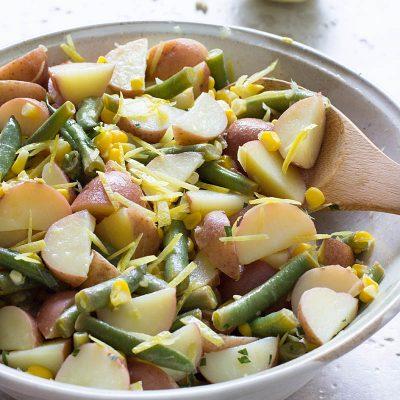 Summer Potato Salad / JillHough.com