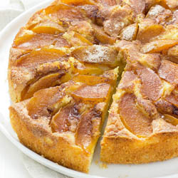 Buttery, Sweet, Bright, Thoroughly Delicious Plum Cake / JillHough.com This cake is an ideal vehicle for summer stone fruits. I've made it with peaches, nectarines, and plums, but plums are by far my favorite.