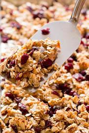 Cherry Almond Granola / Jill Silverman Hough