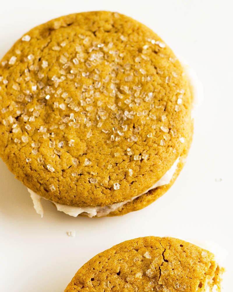 Pumpkin Spice Cookies / JillHough.com