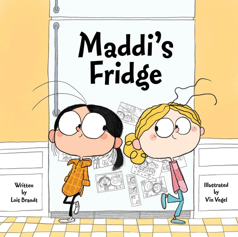 Maddi's Fridge cover / Jill Silverman Hough