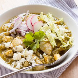 Are the angels singing? Nope, it's the posole