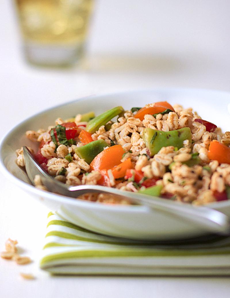 Farro Salad / JillHough.com