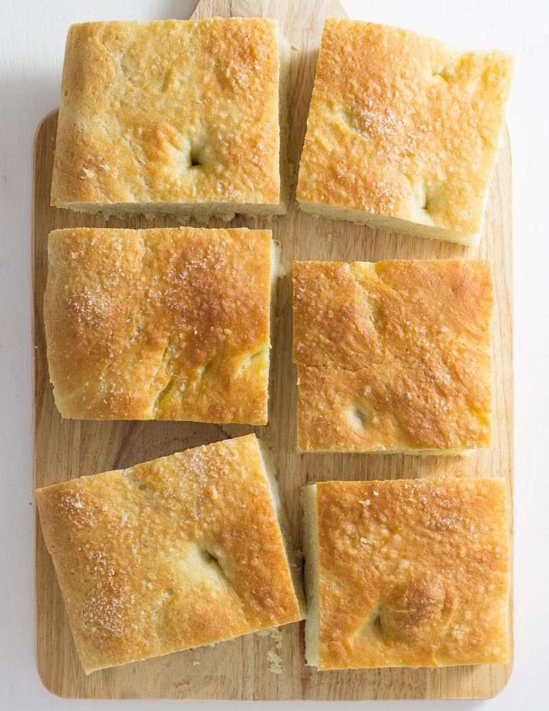 Homemade Focaccia Bread / JillHough.com