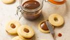 Butter Cookies with Milk Jam / JillHough.com