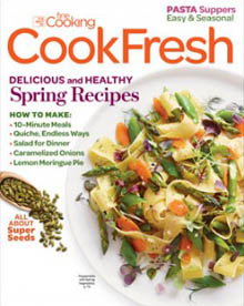 Cooking Fresh, the best of Fine Cooking, Spring 2015 / JillHough.com