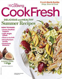 Cooking Fresh, the best of Fine Cooking, Summer 2015 / JillHough.com