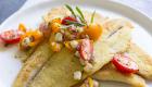 Cornmeal-Crusted Petrale / JillHough.com