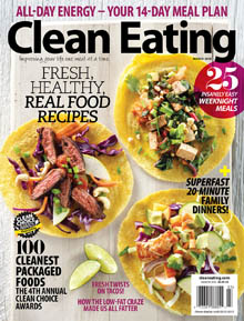 Clean Eating March 2015 Cover / JillHough.com