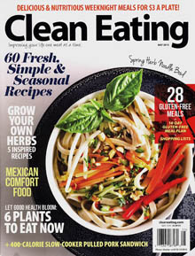 Clean Eating May 2015 Cover / JillHough.com