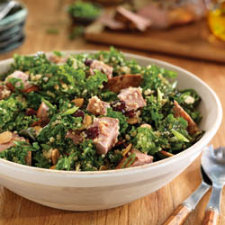 Pork Quinoa Salad with Cherries and Balsamic / JillHough.com