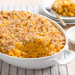 Healthier Macaroni and Cheese / JillHough.com
