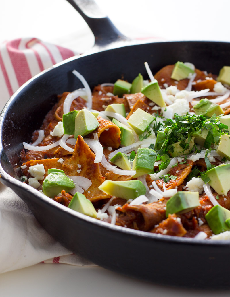 Holiday stress? Chill with chilaquiles