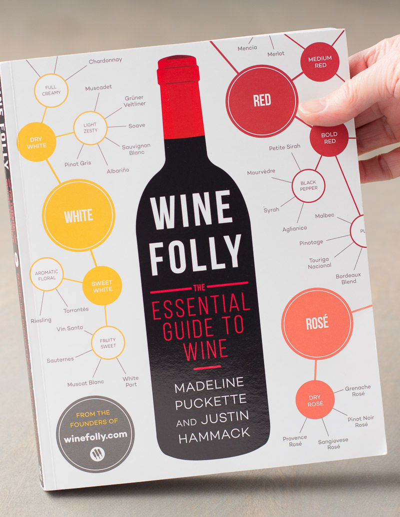 Cooking the books: Wine Folly