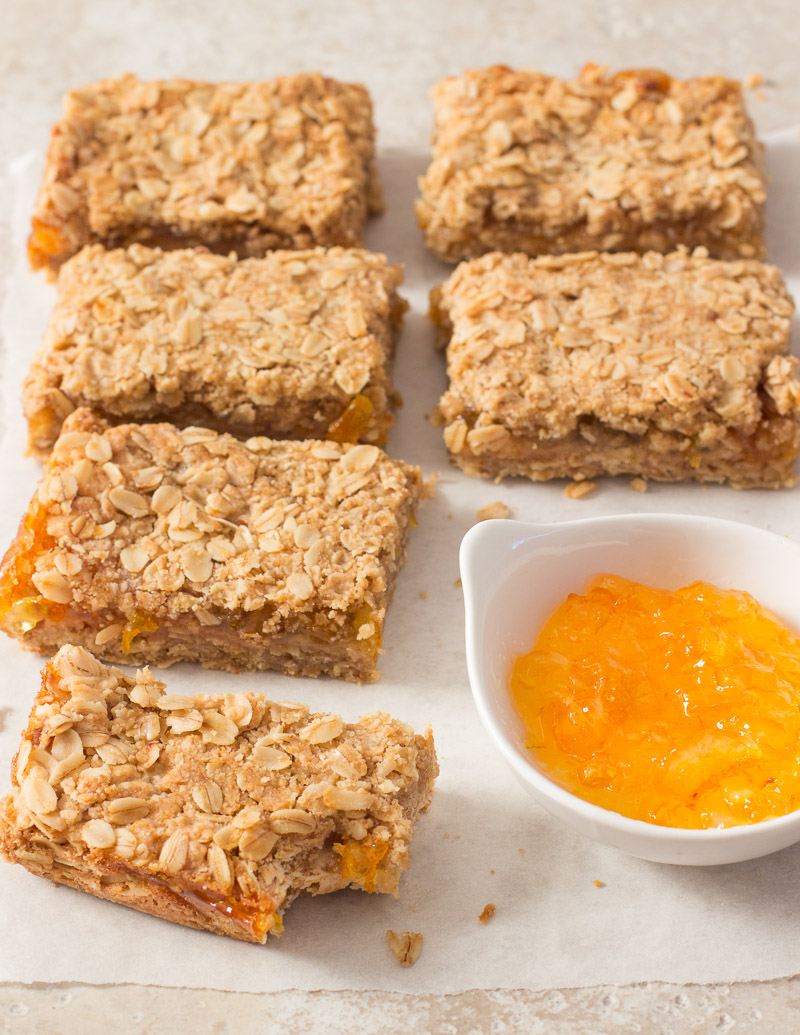 Easy Orange Marmalade Bars / JillHough.com
